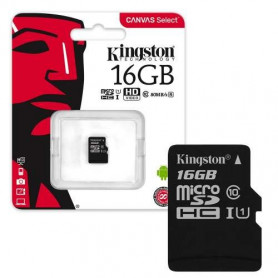 KINGSTON Canvas Select microSD 16Go